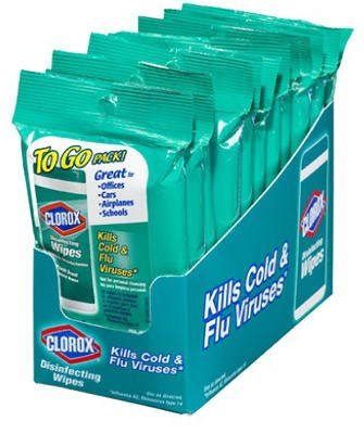 Amazon.com: Clorox Disinfecting Wipes On The Go, Bleach
