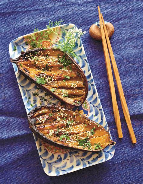 recette de cuisine minceur aubergines dengaku pour 4 personnes recettes à table