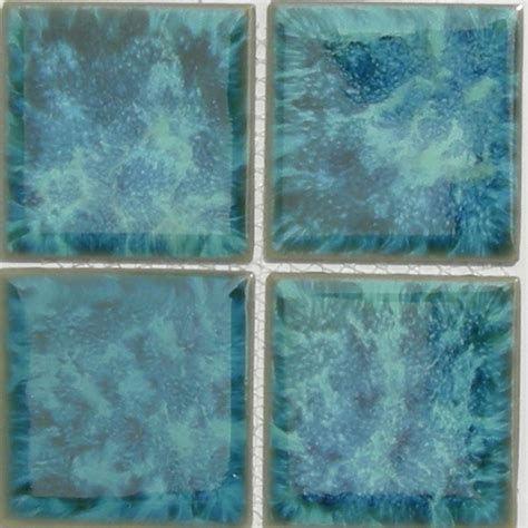 6x6 Porcelain Pool Tile by Titan 6x6 Aquamarine