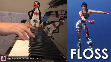 Floss Dance Music (piano Cover By Amosdoll