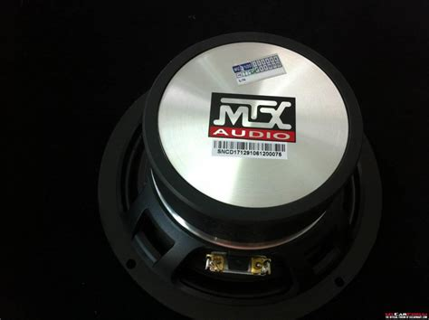 mtx ctc 160 component speakers with tw for sale mcf