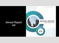 Free Vector Annual Report Guru Corel