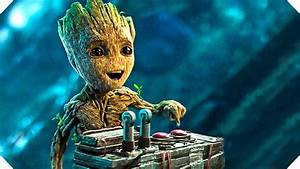 Guardians of the Galaxy 2 - BABY GROOT Button Clip ! - YouTube