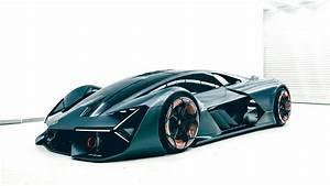 Wallpaper Lamborghini Terzo Millennio, Autonomous