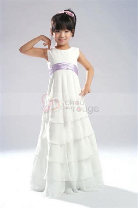 robe de demoiselle d honneur fille robe enfant demoiselle d honneur