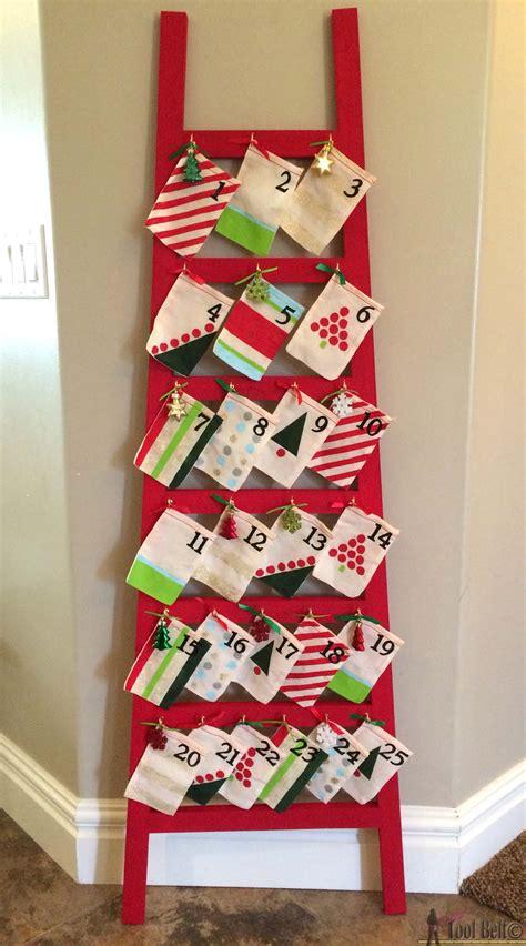 ladder advent calendar  tool belt