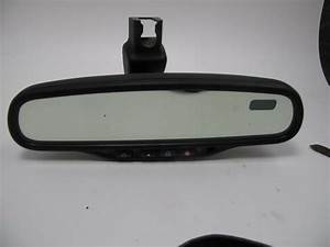 Oem Gm Gntx Gentex 261 Rear View Mirror Compass Auto Dimming Onstar