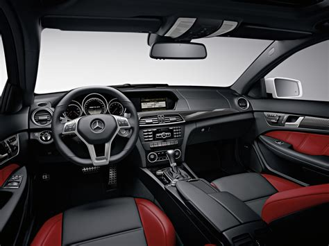 And the most powerful modification among. Mercedes-Benz C63 AMG Coupe (2012) - Interior | Wallpaper #55