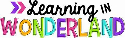 Learning Clipart Wonderland Header Classroom March Transparent