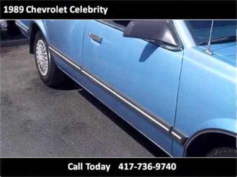 chevrolet celebrity  cars springfield mo youtube
