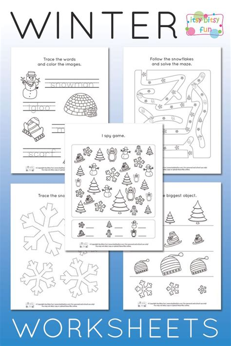 933 best winter theme activities for images on