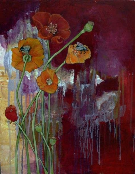 1555 Best Poppies Images On Pinterest Poppies Paint And