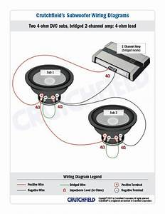Crutchfield Car Stereo Subwoofer Wiring Diagram : subwoofer wiring diagrams car audio car amplifier car ~ A.2002-acura-tl-radio.info Haus und Dekorationen