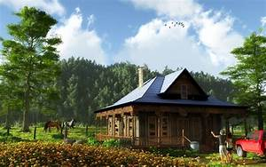Country Homes Wallpaper