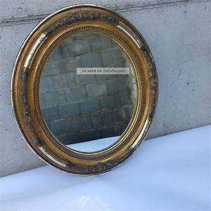 Spiegel Antik Oval : bilderrahmen oval spiegel antik biedermeier um 1850 floral verziert vergoldet ~ Markanthonyermac.com Haus und Dekorationen