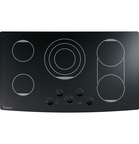 ge monogram  electric cooktop zeukbkbb ge appliances