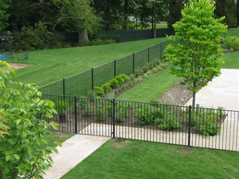 professionally installed residential pool fencing  ct