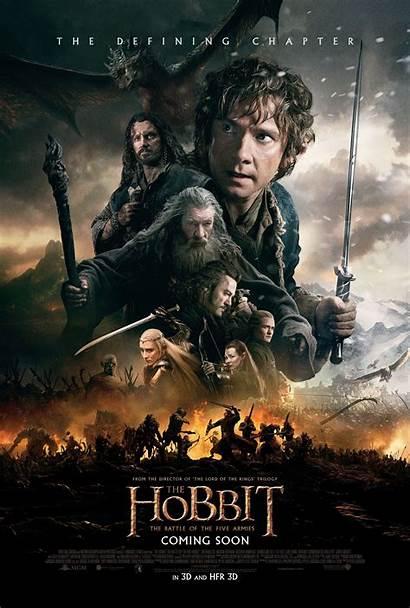 Poster Hobbit Armies Battle Five Res International