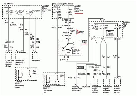 Radio Wiring Diagram 2004 2004 monte carlo radio wiring diagram sle