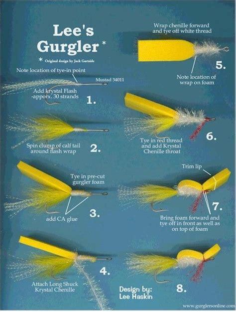 guys flies pies legged gurgler fly fishing fly