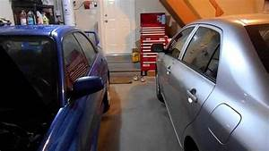 My 2-car Garage Setup  U0026 Organization For My Subaru Impreza Wrx Sti And Toyota Corolla