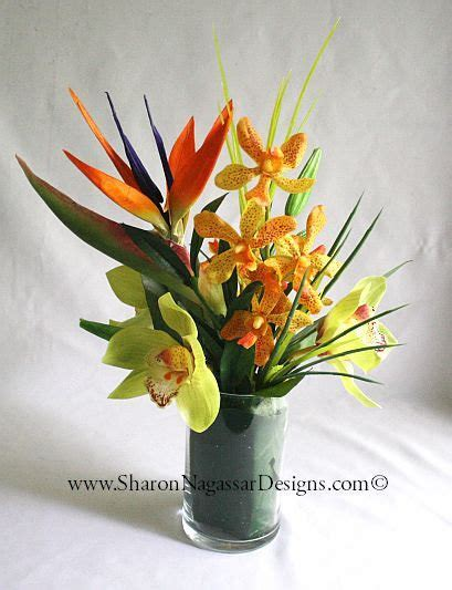 Tropical floral by Sharon Nagassar Designs on Zibbet