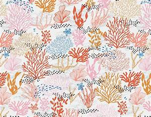 Coral Reef Seamless Pattern | Coral reefs, Coral and Patterns