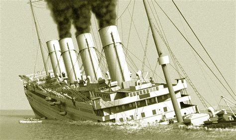 britannic sinking in real time disasterous history