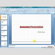 Powerpoint  Adding Notes Youtube