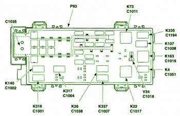 ford ranger battery junction fuse box diagram circuit wiring diagrams
