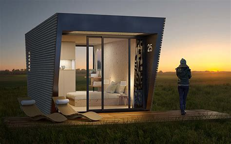 drop box portable hotel suites   stay deep  nature