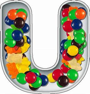presentation alphabets candy dish letter u With alphabet letter candy dishes