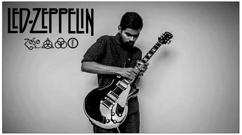 immigrant song cover led zeppelin immigrant song guitar cover youtube