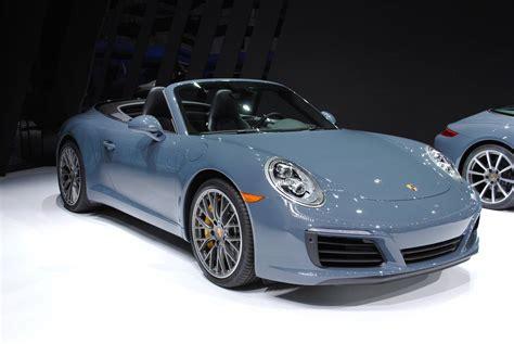 porsche carrera detroit 2016 porsche 911 carrera s cabriolet gtspirit