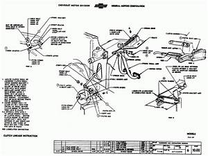 1955 Chevy Truck Ke Pedal Embly Diagram