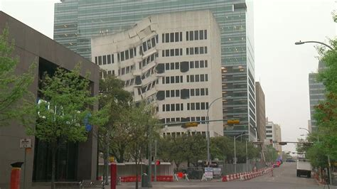 Former Ut Building In Downtown Austin Brought Down