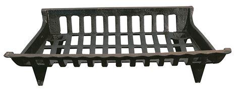 fireplace log grate fireplace cast iron grate black 24 inch new ebay 3750