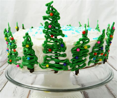 cakes to make at christmas easy christmas tree cake impress your guests