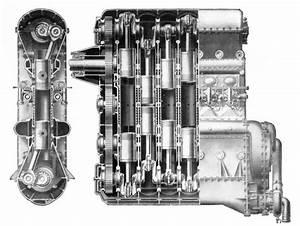 Junkers Opposed Piston 6 Cylinder Aero Diesel     Oldengine Org  Members  Diesel  Duxford