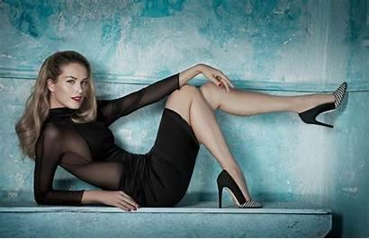 Legs Petra Blonde Nemcova Pumps Wallpapers Desktop