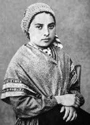 Saint Bernadette, horoscope for birth date 7 January 1844