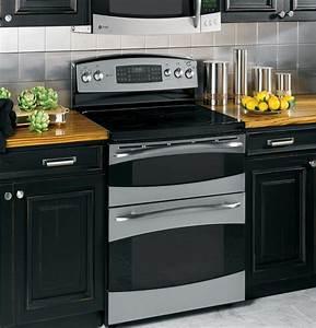 Range Oven: Ge Profile Double Oven Electric Range