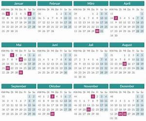 Kalenderwoche Berechnen : kalenderwoche berechnen autos post ~ Themetempest.com Abrechnung