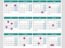 Settimana di calendario 2018