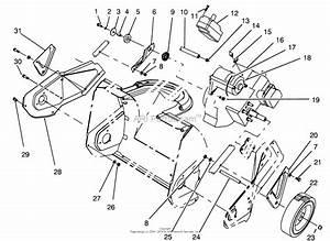 Toro 38175  Ccr Powerlite Snowthrower  1994  Sn 4900001