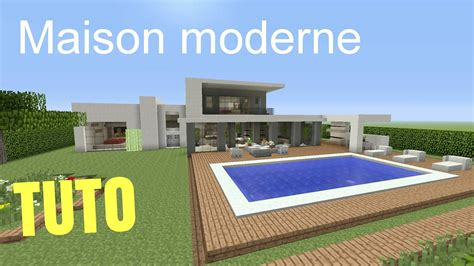 tuto minecraft maison moderne 1 ps4 ps3 xbox360 xboxone psvita