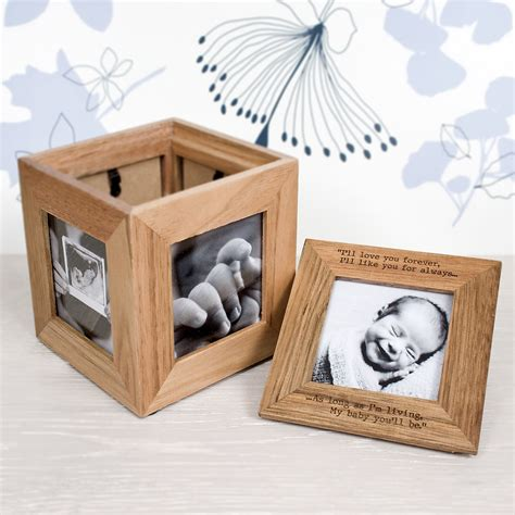 bar with wine fridge personalised photo cube photo keepsake box treat republic