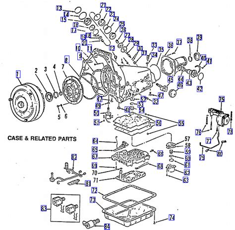 1987 Chevy 700r4 Transmission Part Diagram chevy g20 need thm 700r4 schematic diagram