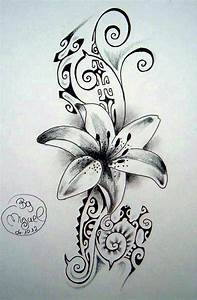 Tatouage Fleur Signification : tatouage marquisien fleur teuk ~ Melissatoandfro.com Idées de Décoration