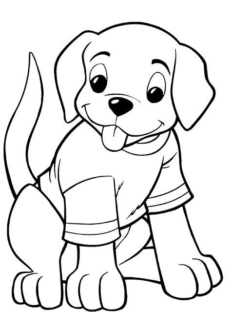 puppy coloring pages  coloring pages  kids